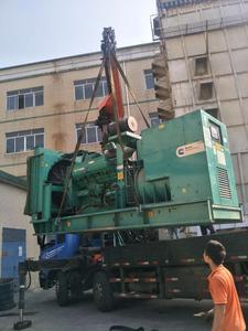 发电机回收现场2