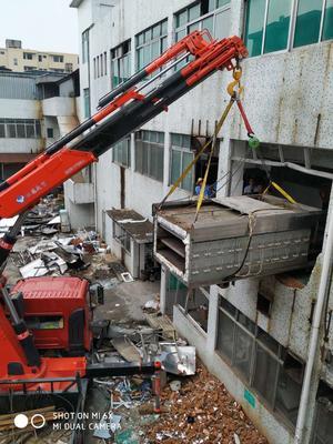 广州某食品厂设备拆卸场1