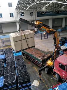 广州某厂空压机回收现场