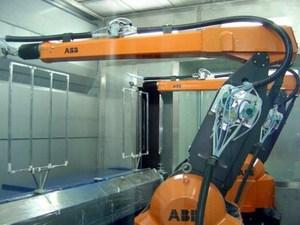 喷涂机器人回收